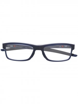 Очки Chamfer MNP Oakley. Цвет: синий