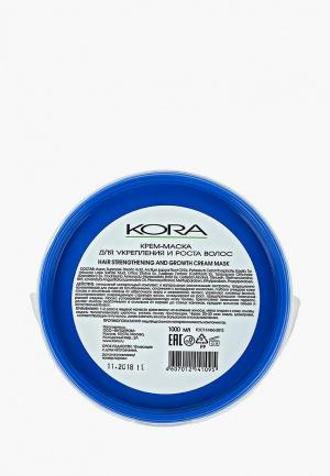 Маска для волос Kora укрепления и роста. Цвет: прозрачный