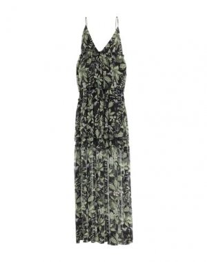 Длинное платье HTC. Цвет: черный