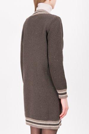 Удлиненный пуловер с пайетками PANICALE