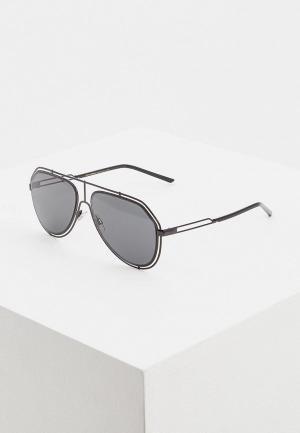 Очки солнцезащитные Dolce&Gabbana DG2176 01/87. Цвет: черный