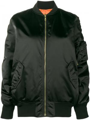 Куртка-бомбер Le Bomber Balenciaga. Цвет: чёрный