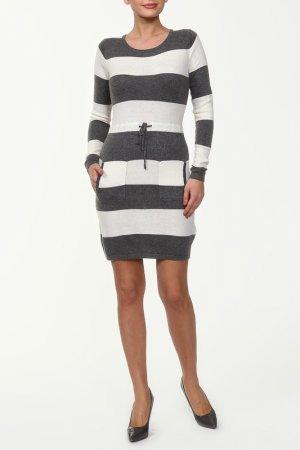 Платье GINGER+SOUL. Цвет: серый