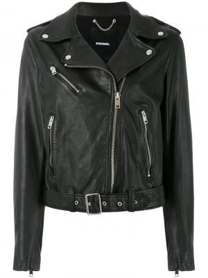 Куртка L-Tammy Diesel. Цвет: черный