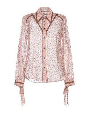 Pубашка COACH. Цвет: розовый