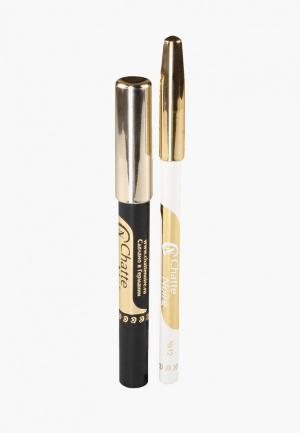 Набор для макияжа глаз Chatte Noire Карандаш + Карандаш-тени №59, 3,21. Цвет: разноцветный