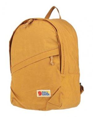 Рюкзаки и сумки на пояс FJALLRAVEN. Цвет: охра