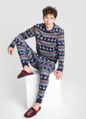 Пижама O`Stin. Цвет: темно-синий