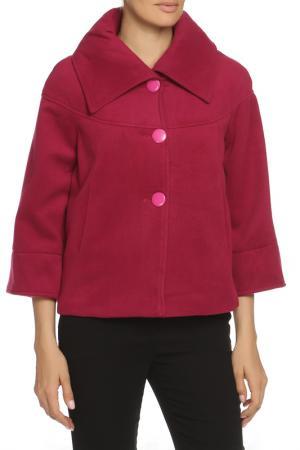 Пальто ELEGANT LEDI. Цвет: красный