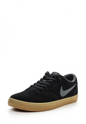Кеды Nike MENS SB CHECK SOLARSOFT SKATEBOARDING SHOE. Цвет: черный