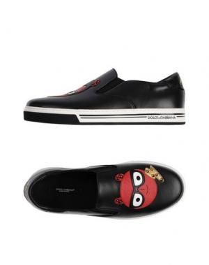 Кеды и кроссовки DOLCE & GABBANA. Цвет: черный