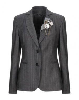 Пиджак HANITA. Цвет: стальной серый