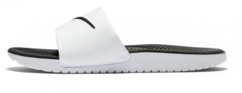 Шлепанцы детские Kawa Slide, размер 31 Nike. Цвет: белый