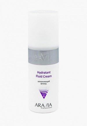 Флюид для лица Aravia Professional увлажняющий Hydratant Fluid Cream, 150 мл.. Цвет: белый
