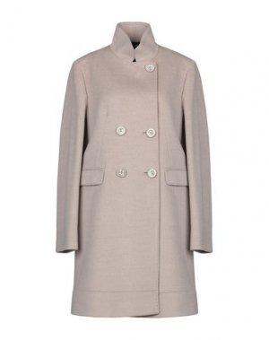 Пальто CINZIA ROCCA. Цвет: светло-серый
