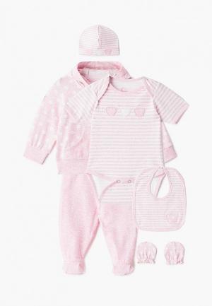 Комплект Fim Baby. Цвет: розовый