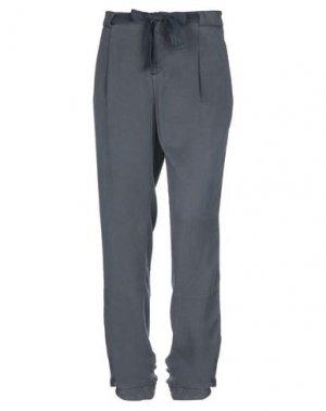 Повседневные брюки E-GÓ. Цвет: свинцово-серый