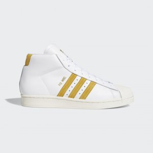 Кеды Pro Model ADV Originals adidas. Цвет: белый
