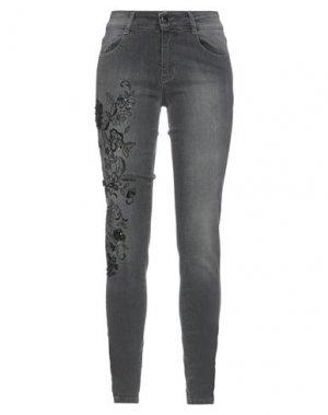 Джинсовые брюки ANNA RACHELE JEANS COLLECTION. Цвет: серый