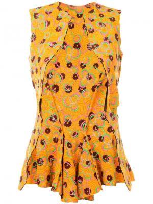 Жилетка с вышивкой Comme Des Garçons Pre-Owned. Цвет: разноцветный