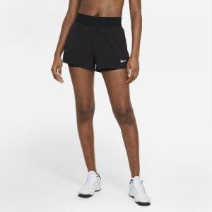 Женские теннисные шорты NikeCourt Dri-FIT Victory - Черный