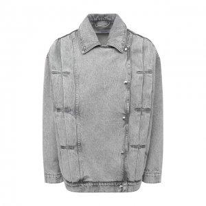 Джинсовая куртка Iro. Цвет: серый