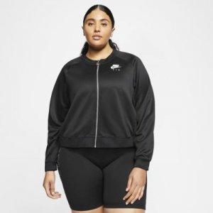 Женская куртка Nike Air (большие размеры) - Черный