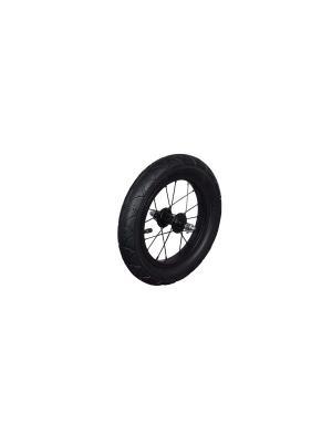 Стальные надувные колеса для беговела Runbike (пара). Цвет: черный