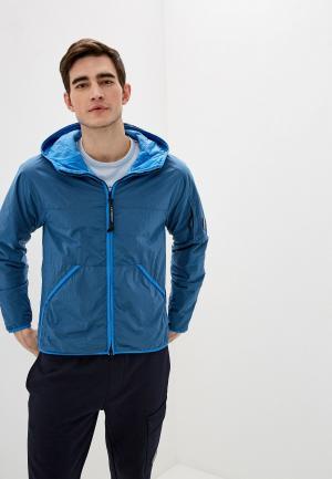 Куртка утепленная C.P. Company. Цвет: голубой