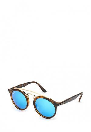 Очки солнцезащитные Ray-Ban® RB4256 609255. Цвет: коричневый