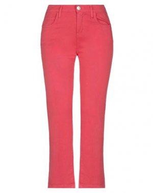 Повседневные брюки CURRENT/ELLIOTT. Цвет: коралловый