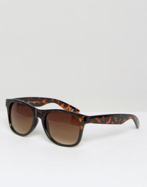 Солнцезащитные очки в черепаховой оправе Spicoli 4 VLC01RE Vans. Цвет: коричневый