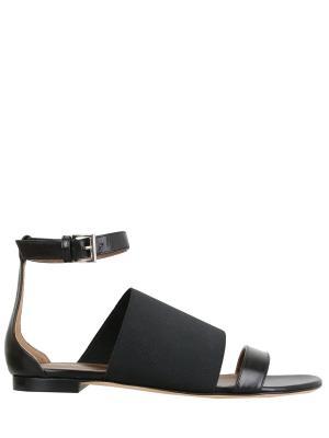 Комбинированные сандалии AGNONA