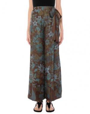Длинная юбка SISTE' S. Цвет: зеленый-милитари