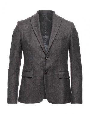Пиджак UNGARO. Цвет: красно-коричневый