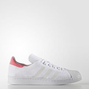 Кроссовки Superstar 80s Primeknit Originals adidas. Цвет: белый