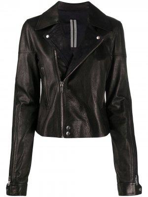 Байкерская куртка Rick Owens DRKSHDW. Цвет: черный