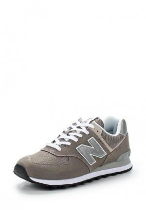 Кроссовки New Balance 574 Evergreen. Цвет: серый