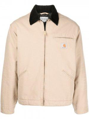 Куртка OG Detroit Carhartt WIP. Цвет: коричневый