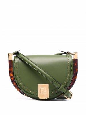 Moonlight crossbody bag Fendi. Цвет: зеленый