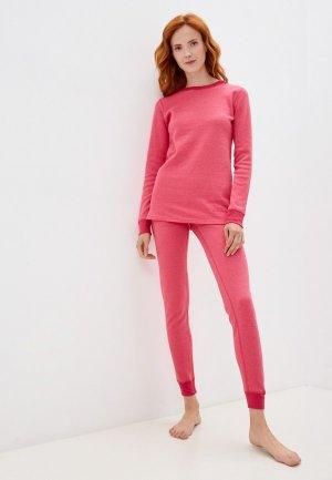 Комплект термобелья Montero Cotton Comfort EveryDay. Цвет: розовый