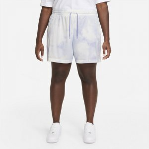 Женские шорты Nike Sportswear Icon Clash (большие размеры) - Пурпурный