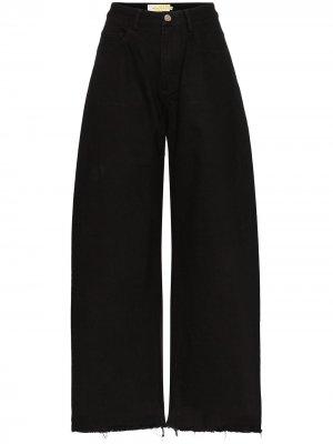 MarquesAlmeida джинсы широкого кроя с завышенной талией Marques'Almeida. Цвет: черный