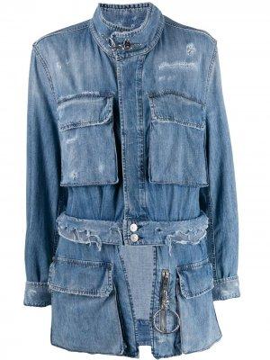 Куртка-бомбер De-Meryl Diesel. Цвет: синий