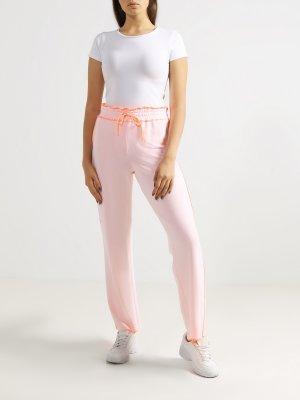 Спортивные брюки DEHA. Цвет: rozovyy