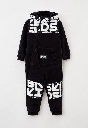 Комбинезон Bask Kids MODI. Цвет: черный