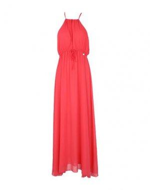 Длинное платье REBEL QUEEN by LIU •JO. Цвет: коралловый