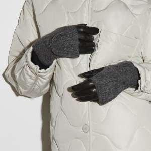 Перчатки Ekonika EN33954 black/dk.grey-20Z. Цвет: черный/серый
