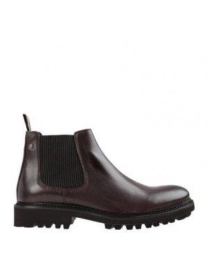 Полусапоги и высокие ботинки AMBITIOUS. Цвет: темно-коричневый