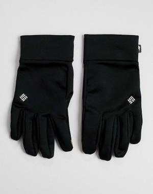 Черные перчатки с технологией Omni-Heat Touch Columbia. Цвет: черный
